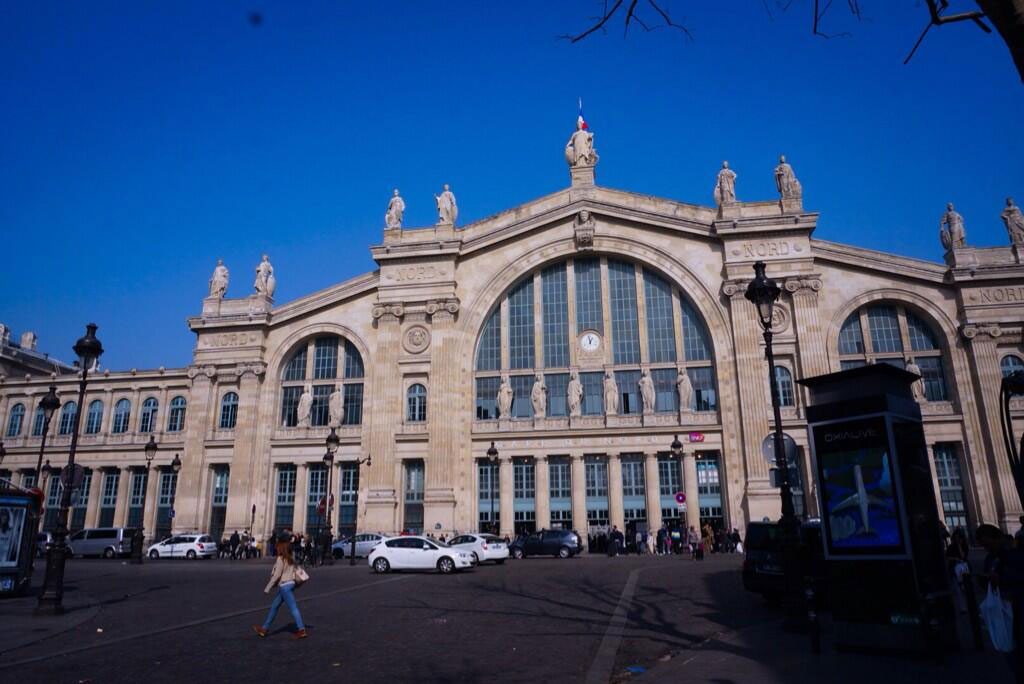 Kojima-Paris-2014-Arrival