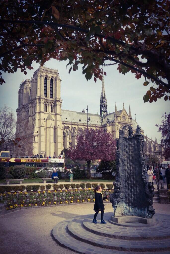 Kojima-in-Paris-Notre-Dame