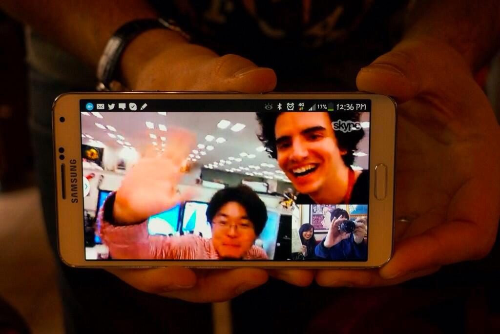 Kojima-in-Paris-Skype-Amaro-and-Korekado