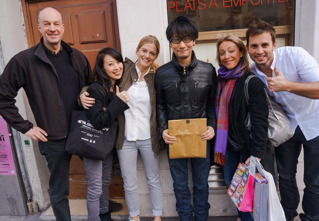 Kojima-in-Paris-with-Team-France