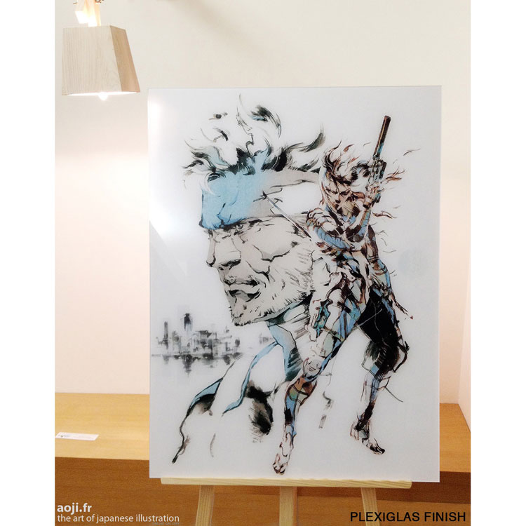 Decorate Your Walls With These High Quality Metal Gear Solid