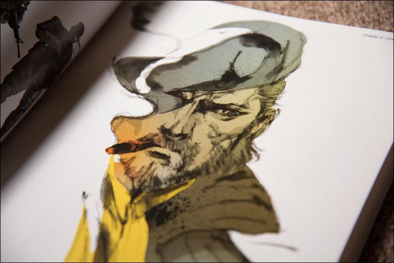 Metal Gear Solid Artwork: Close Up: Metal Gear Solid Peace Walker Official Art Works