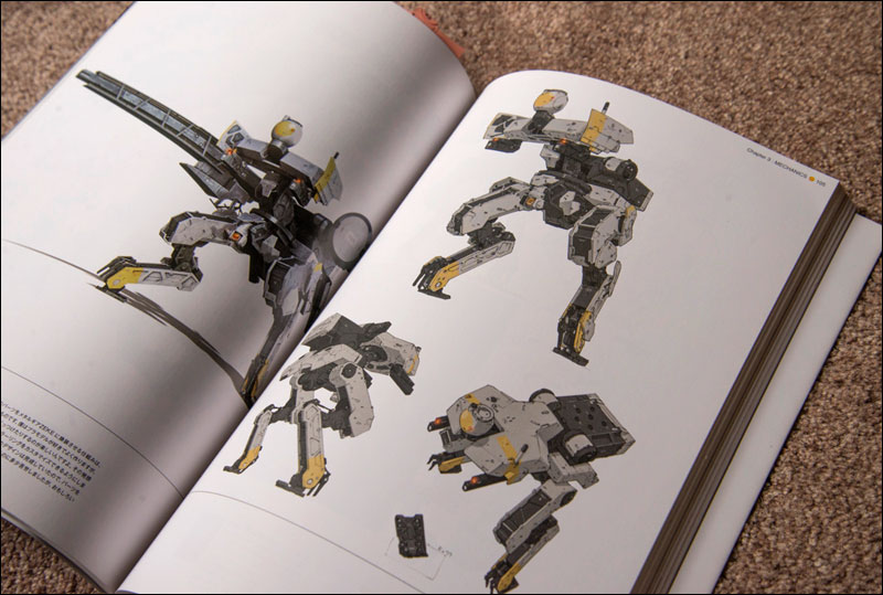 Metal-Gear-Solid-Peace-Walker-Official-Art-Works-Metal-Gear-ZEKE