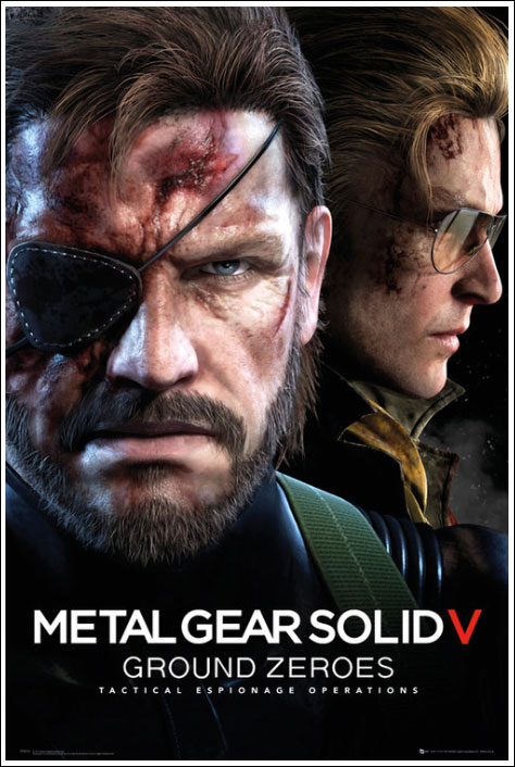 MGSV-Ground-Zeroes-Merchandise-Maxi-Poster