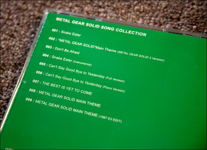 Metal-Gear-Solid-Song-Collection-Track-List