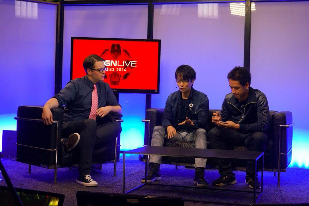 Kojima-E3-2014-IGN-Interview