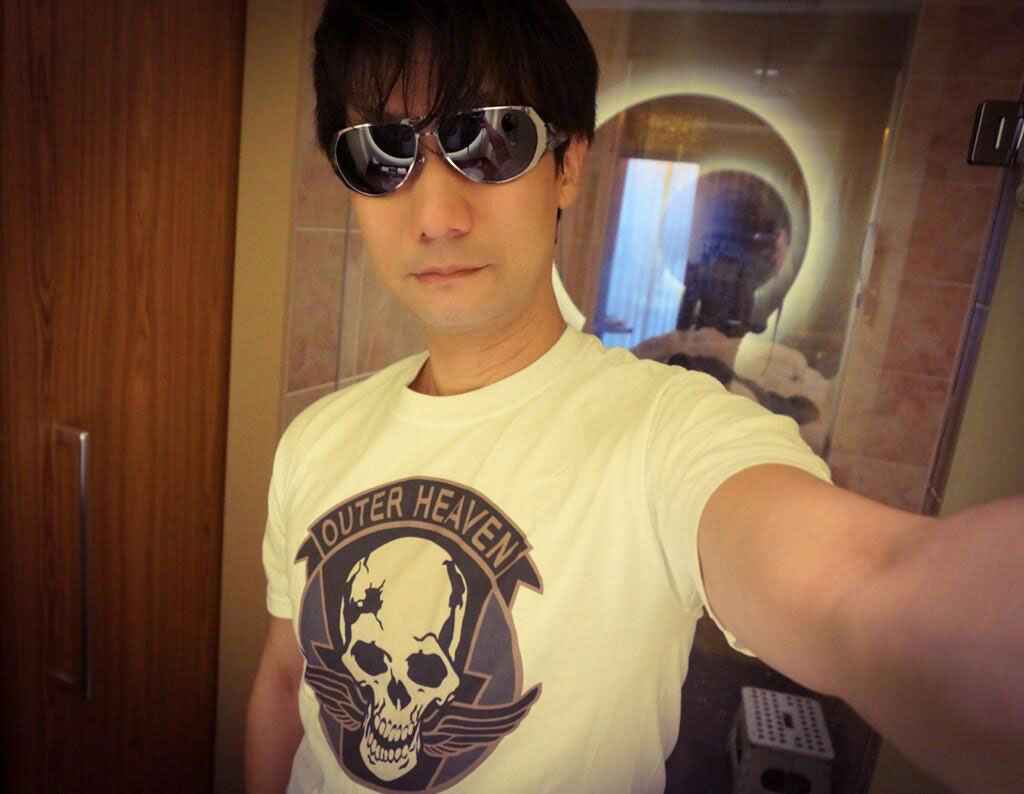 Kojima-E3-2014-Outer-Heaven-T-Shirt