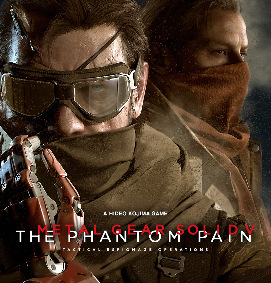 New Artwork And Promotional Images For MGSV: The Phantom Pain