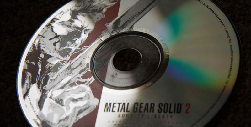 Metal-Gear-Solid-2-Official-Soundtrack-CD-Disc
