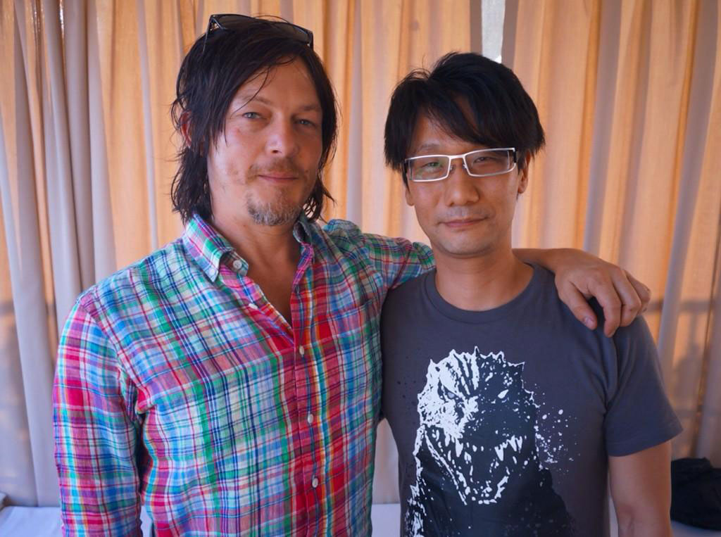Comic-Con-2014-Kojima-and-Norman-Reedus