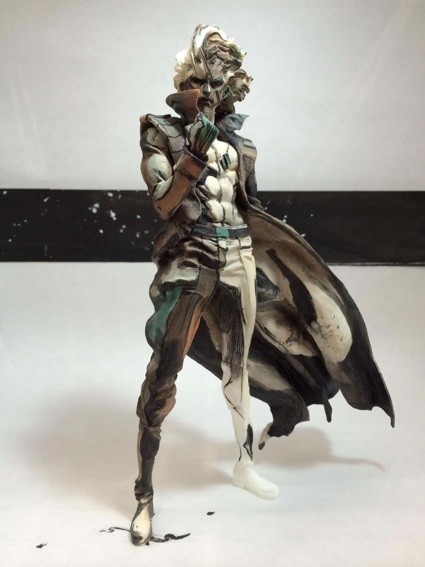 Liquid-Snake-Figure-Yoji-Shinkawa-Artwork