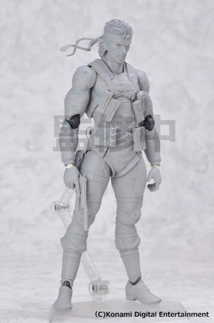 Max-Factory-MGS2-Solid-Snake-Unpainted
