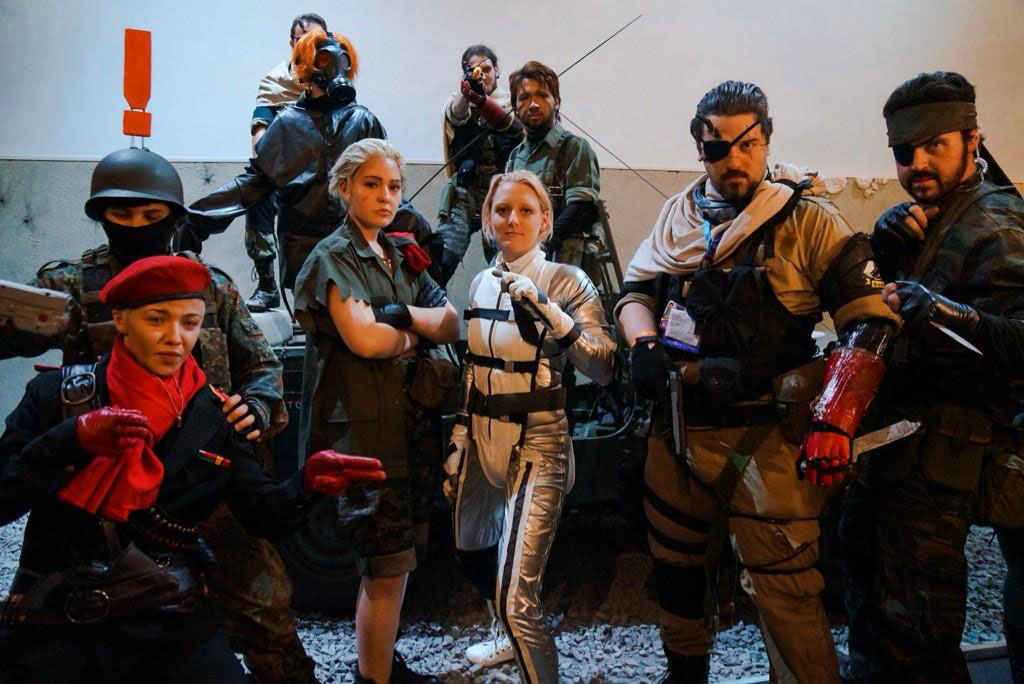 Gamescom-MGSV-Cosplayers