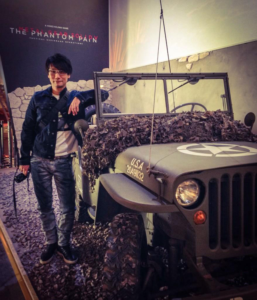 Hideo-Kojima-Gamescom-Cologne-Jeep-and-Kojima