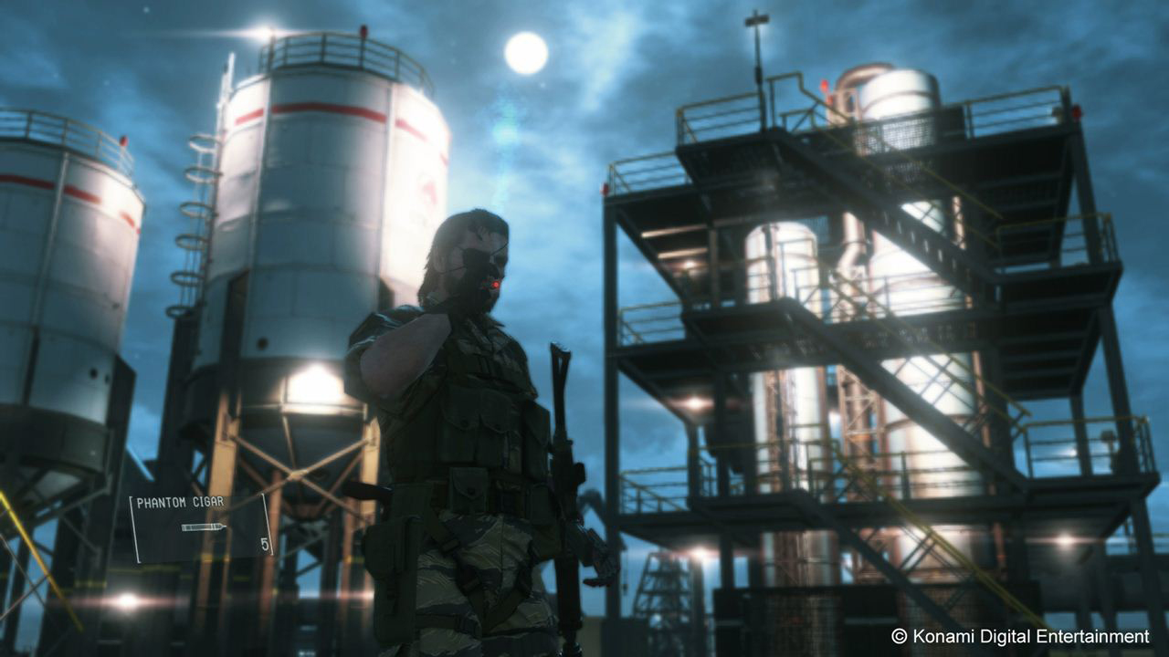 MGSV-TPP-Mother-Base-Nighttime