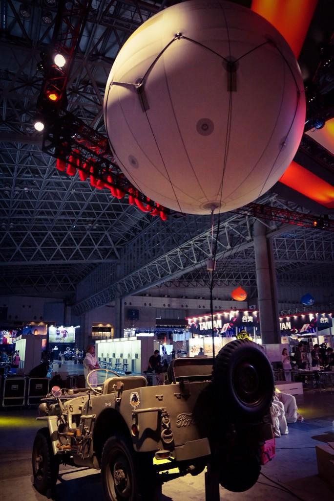 Kojima-Tokyo-Game-Show-2014-Booth-Jeep