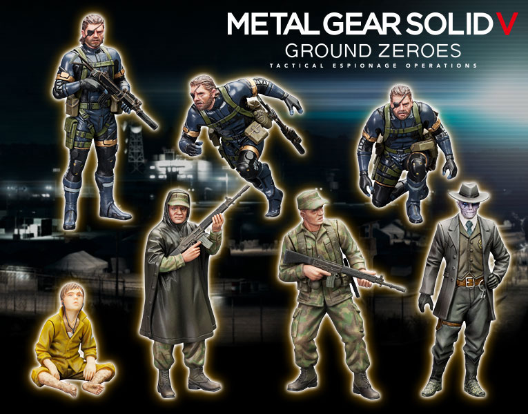 MGSV-Ground-Zeroes-Kotobukiya-Figures