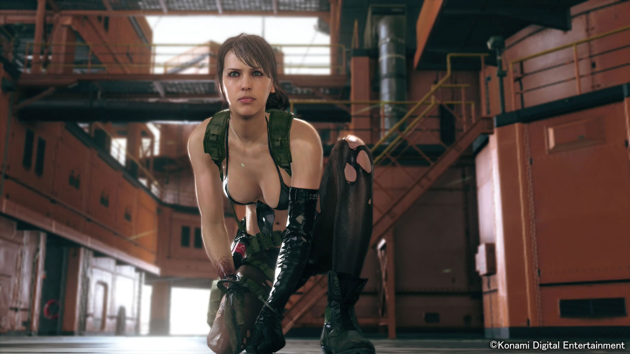 MGSV-The-Phantom-Pain-TGS-2014-Screen-Quiet-Enters-Mother-Base-2