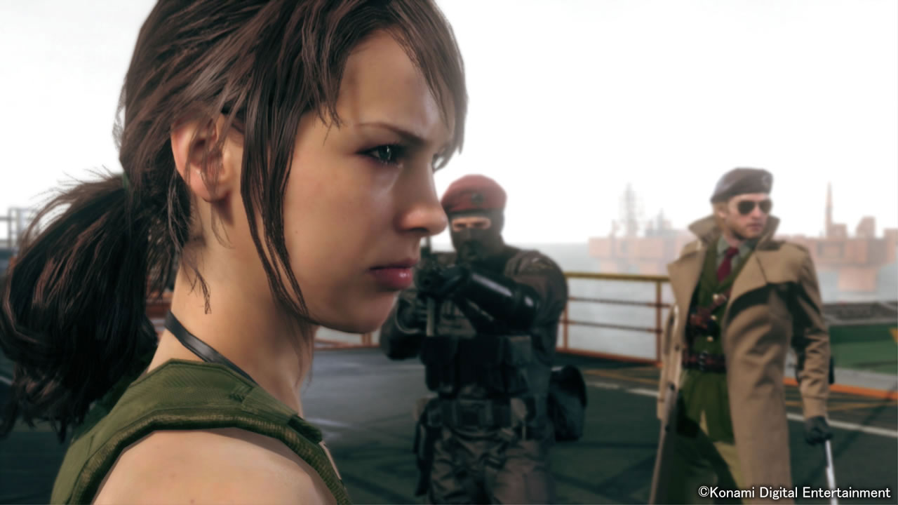 MGSV-The-Phantom-Pain-TGS-2014-Screen-Quiet-Enters-Mother-Base-4