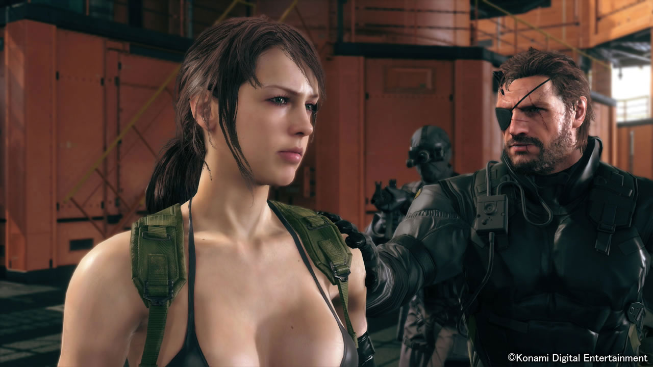 MGSV-The-Phantom-Pain-TGS-2014-Screen-Quiet-Enters-Mother-Base-6