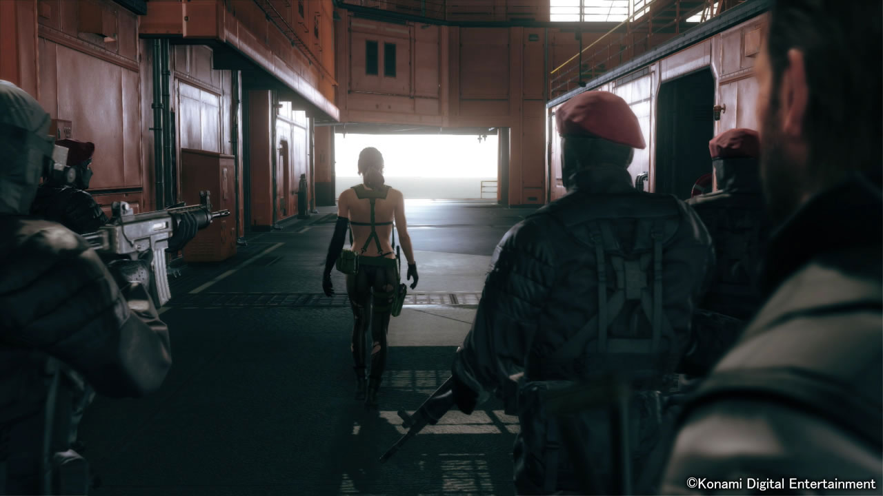 MGSV-The-Phantom-Pain-TGS-2014-Screen-Quiet-Enters-Mother-Base-7
