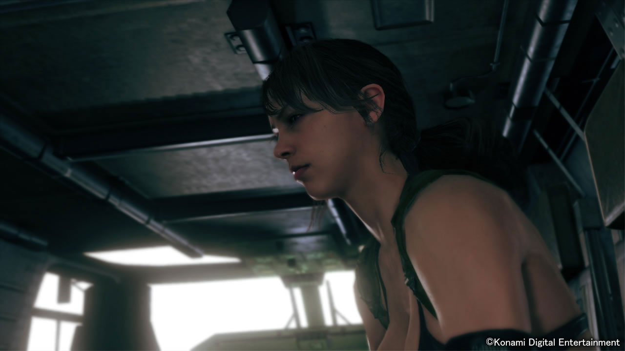 MGSV-The-Phantom-Pain-TGS-2014-Screen-Quiet-Enters-Mother-Base