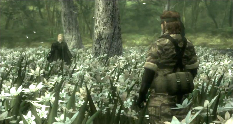 Snake-vs-The-Boss-MGS3-Fight