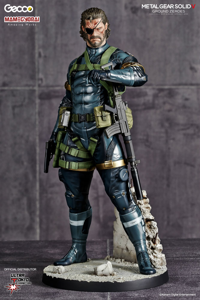 Gecco-MGSV-GZ-Snake-Statue