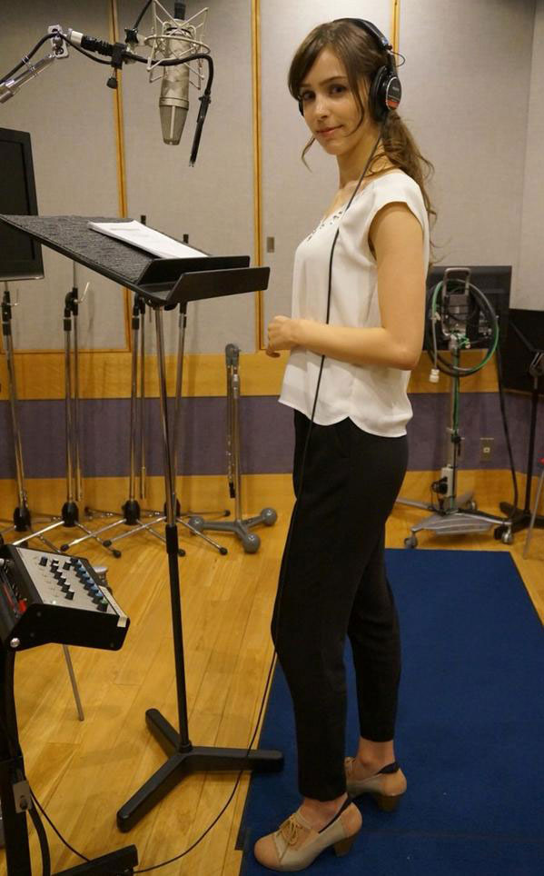 Kojima-Voice-Over-Recording-Quiet-October-2014-4