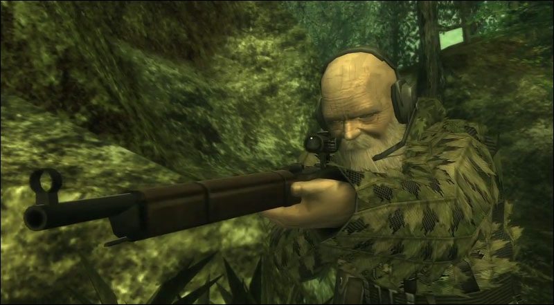 Image result for mgs 3 the end