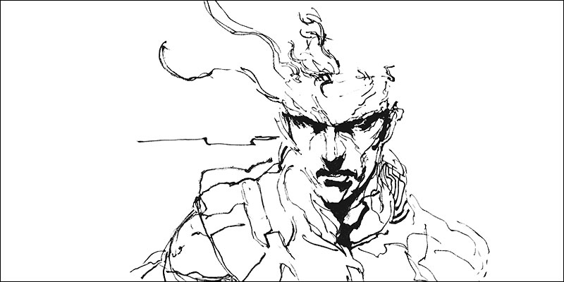 Shinkawa-Solid-Snake-Art