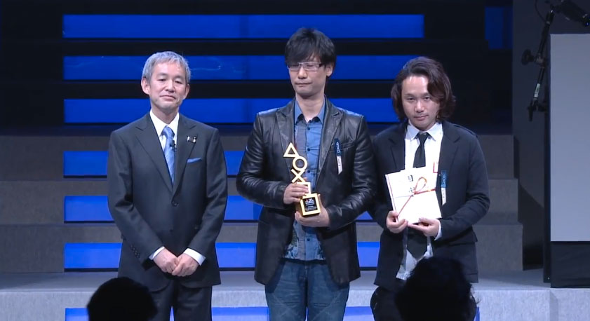 Kojima-and-Shinkawa-PlayStation-Awards-2014