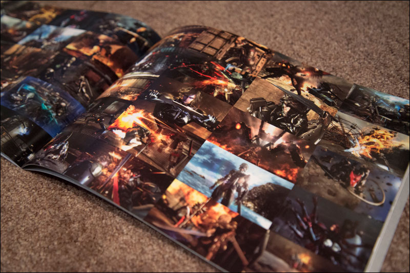 Metal-Gear-Rising-Revengeance-Premium-Package-Artbook-Cutscene-Stills