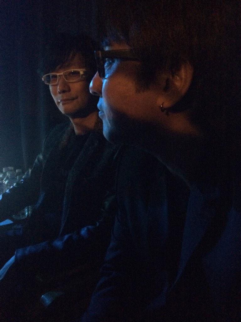 The-Game-Awards-2014-Kojima-and-Tom-Sekine-Preparing-2
