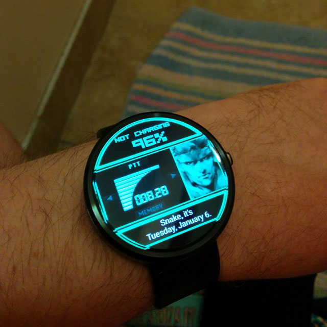 MGS-Codec-Animated-Smartwatch-on-Wrist