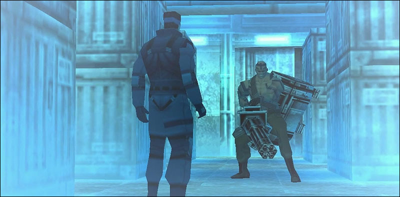 MGS1-Solid-Snake-vs-Vulcan-Raven