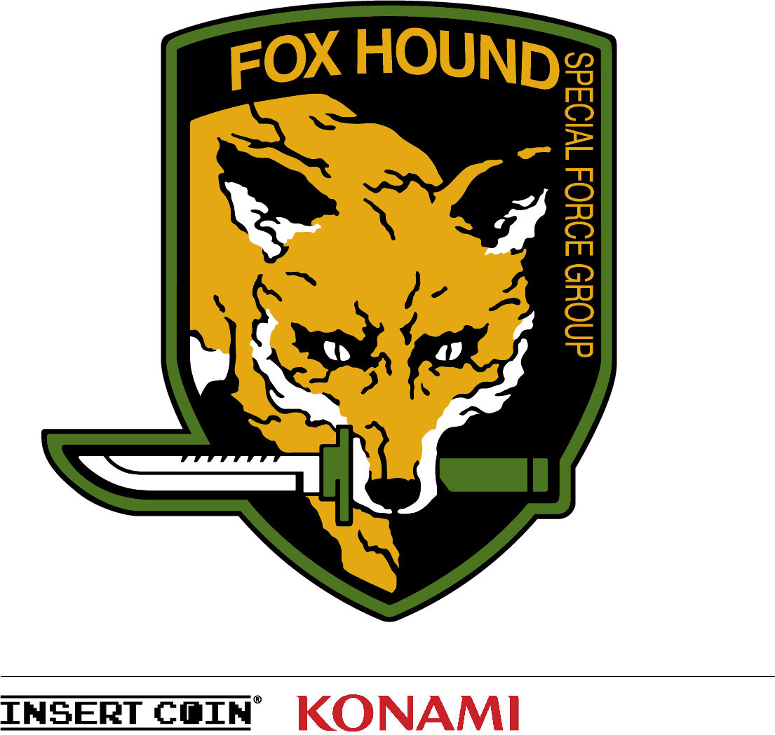 Insert-Coin-FoxHound-Patches