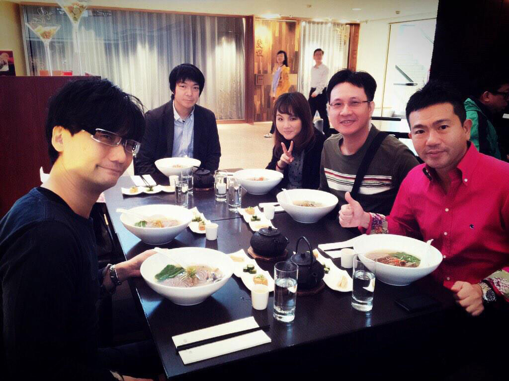 Kojima-Lunch-with-Konami-Taiwan