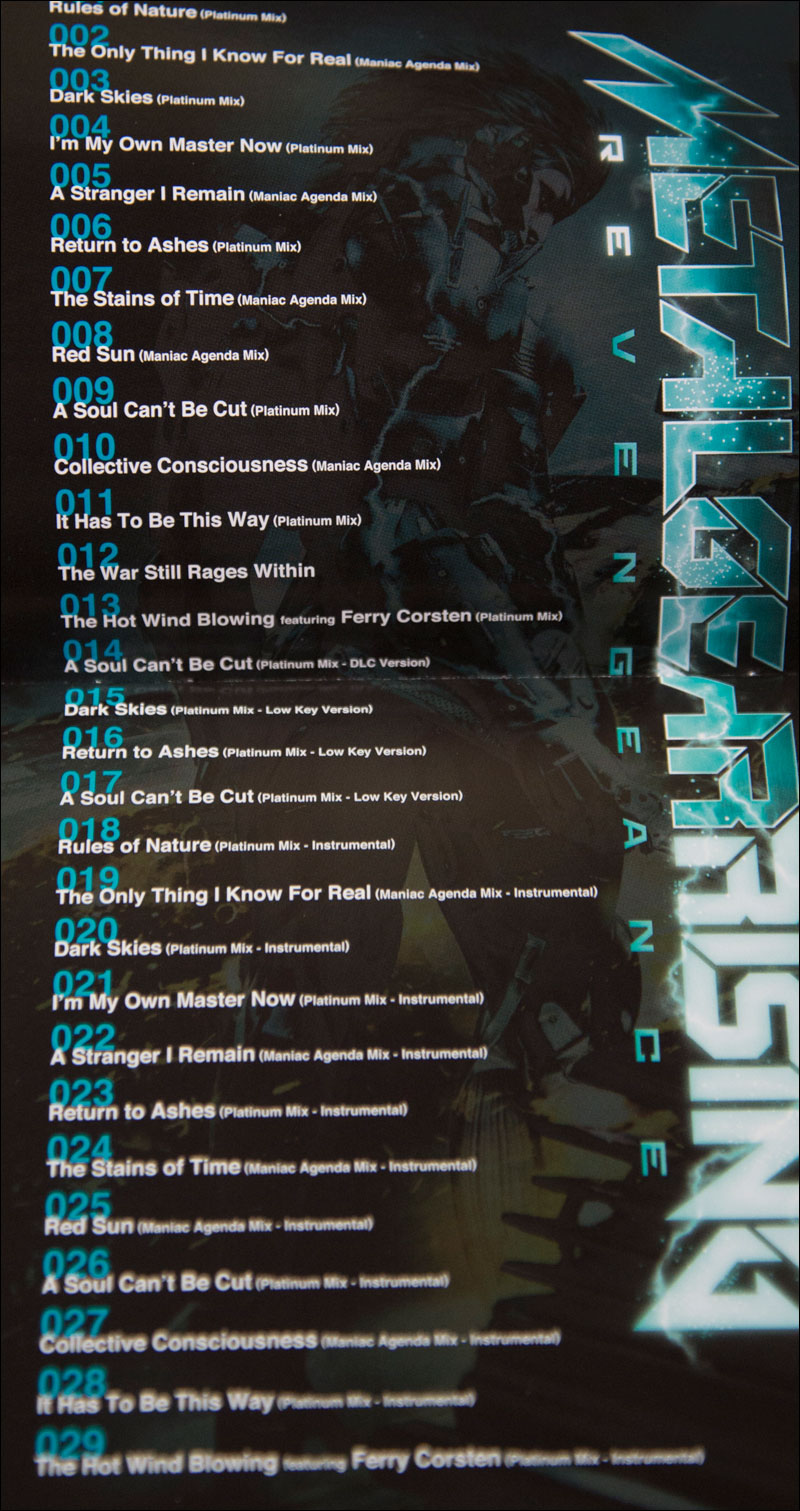 Metal-Gear-Rising-Vocal-Tracks-First-Edition-Booklet-Tracklist