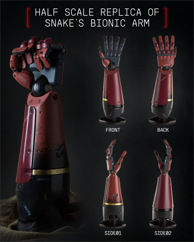 MGSV-The-Phantom-Pain-Collector's-Edition-Bionic-Arm-Half-Scale