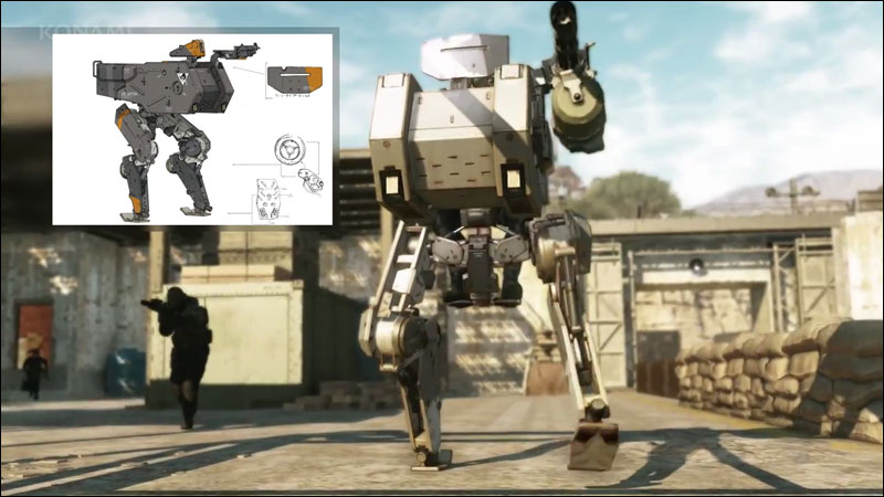 Metal-Gear-Online-Bipedal-Mech