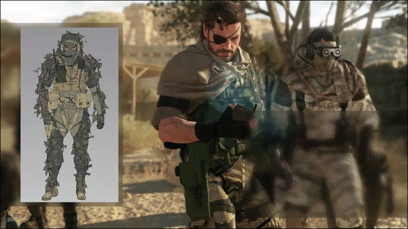 Metal-Gear-Online-Gear-Selection