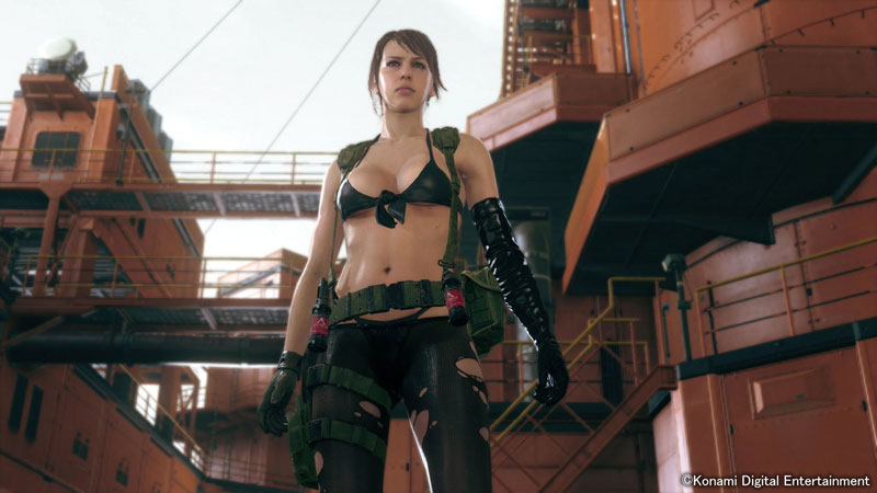 MGSV The Phantom Pain Screen Quiet At Mother