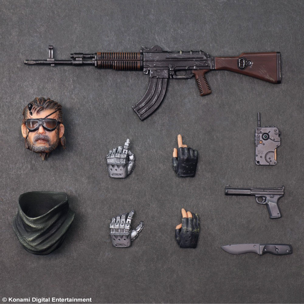 Play-Arts-Venom-Snake-Splitter-Version-Extras