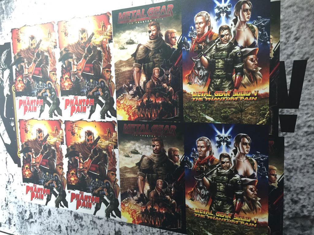Comic-Con-London-MGSV-TPP-Posters