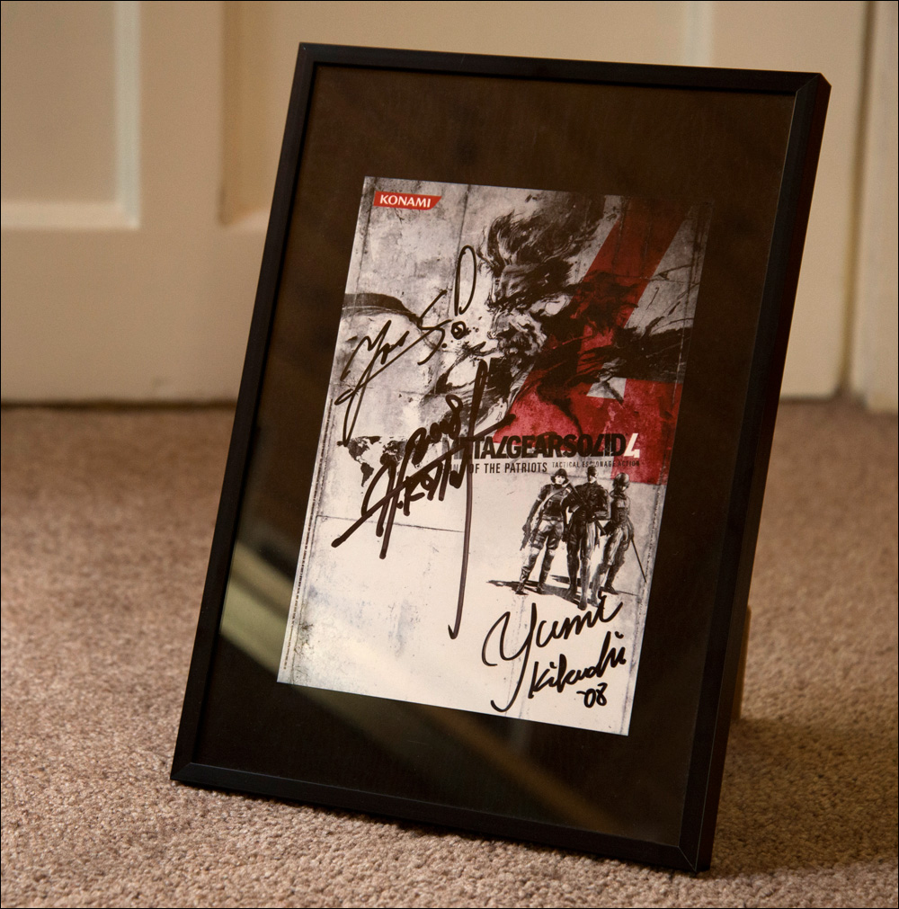MGS4-World-Tour-Flyer-Autograph