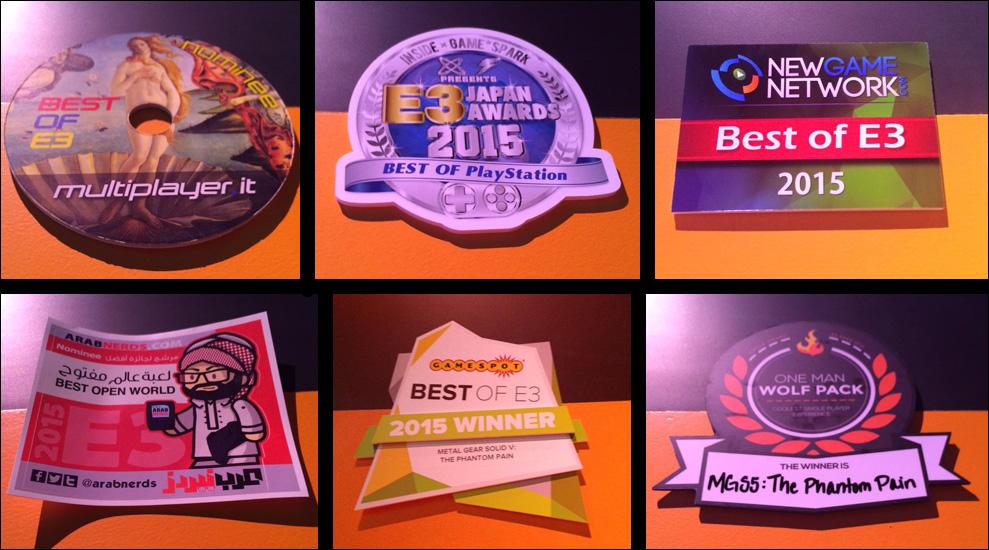 MGSV-E3-2015-Awards
