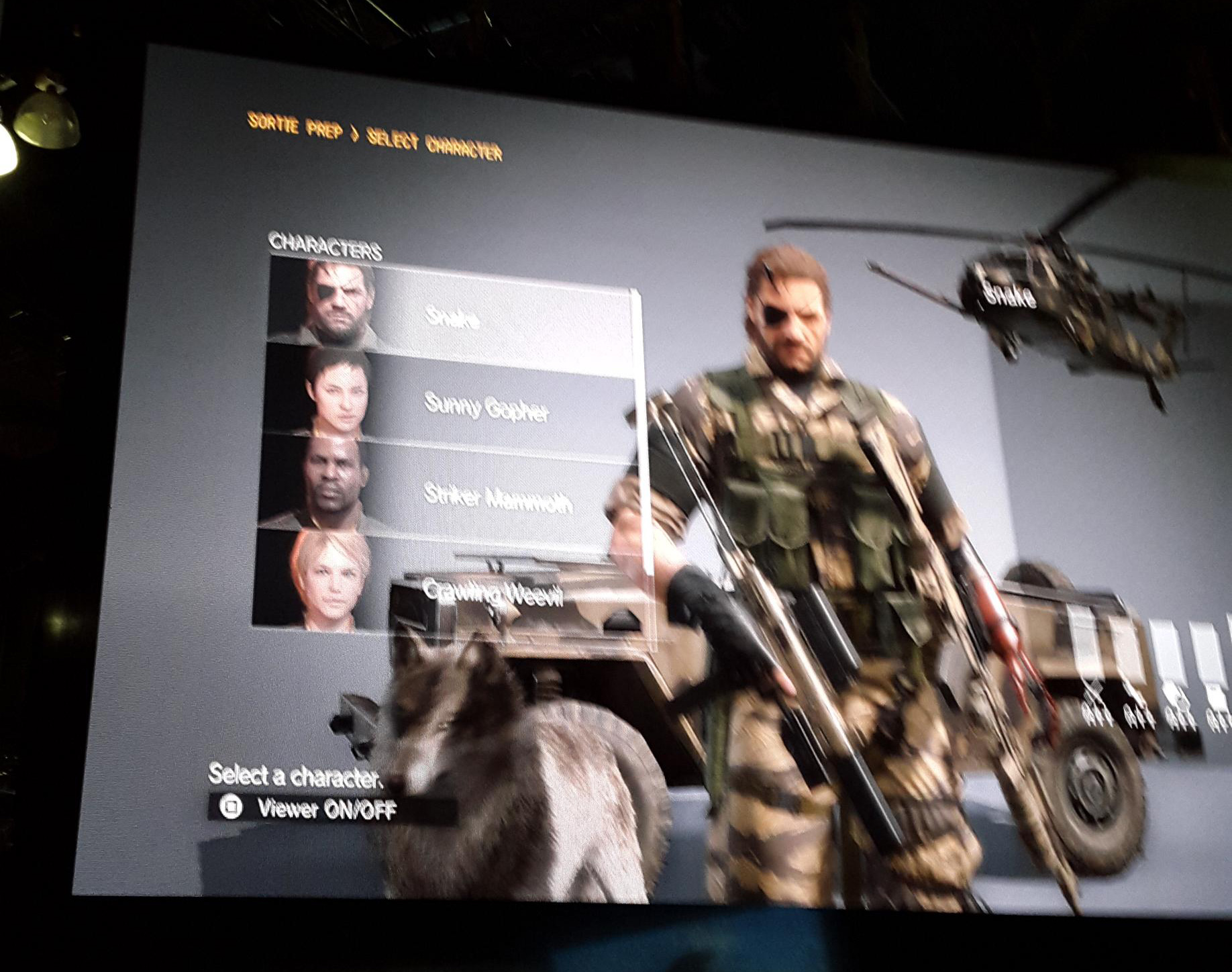 MGSV-E3-2015-Character-Select