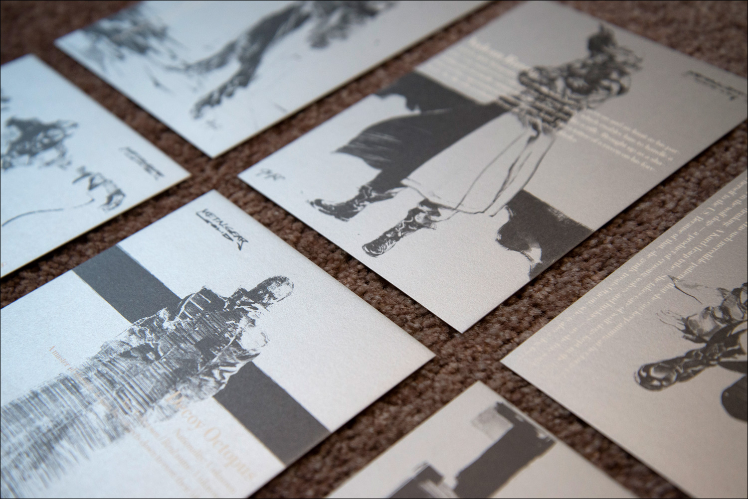 Metal-Gear-Solid-Premium-Package-Postcards-Close