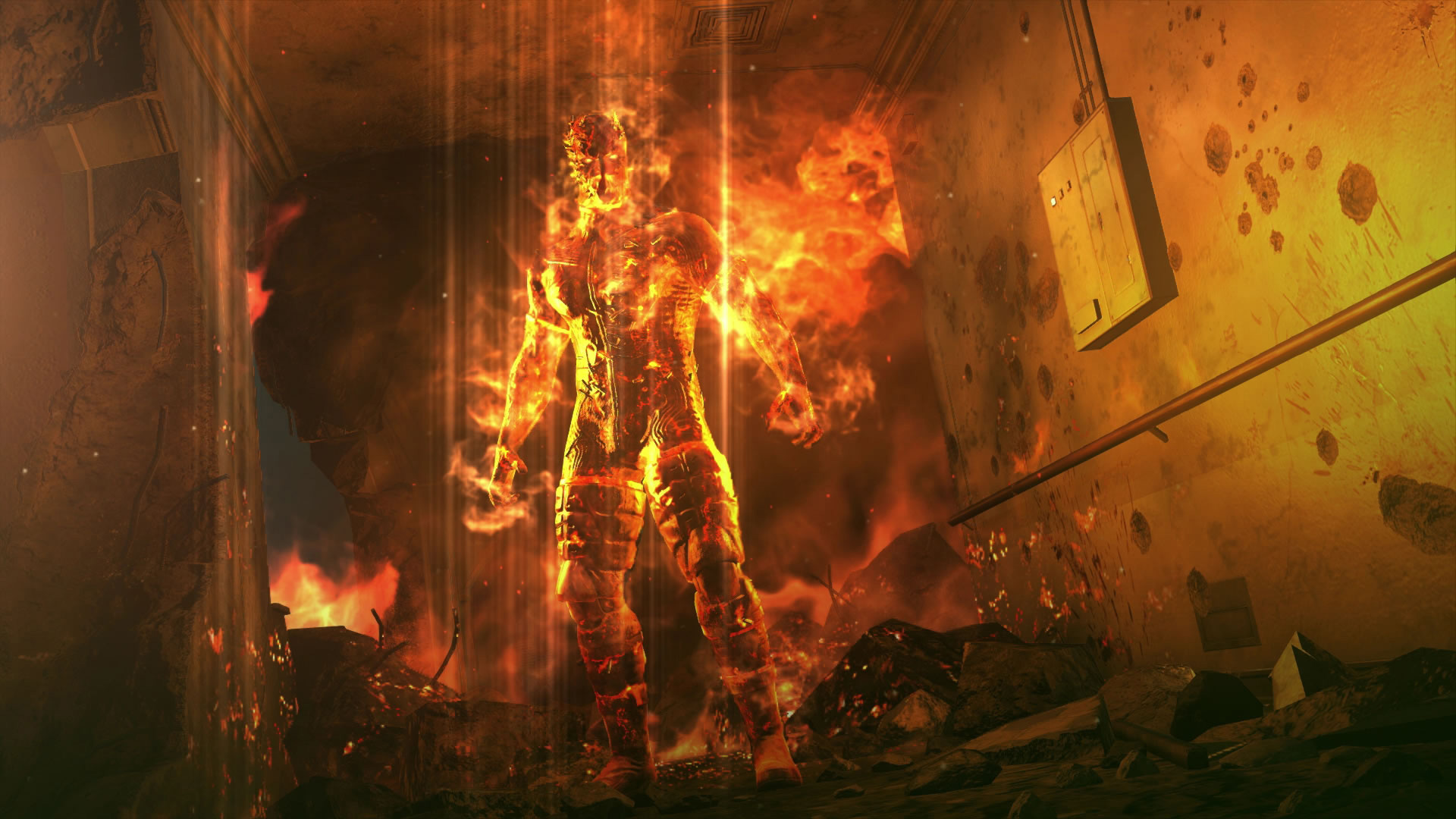 Metal-Gear-Solid-V-The-Phantom-Pain-E3-2015-Screen-Man-on-Fire